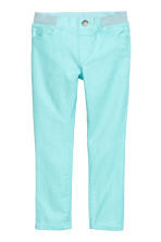 Treggings - Light turquoise -  | H&M CN 2
